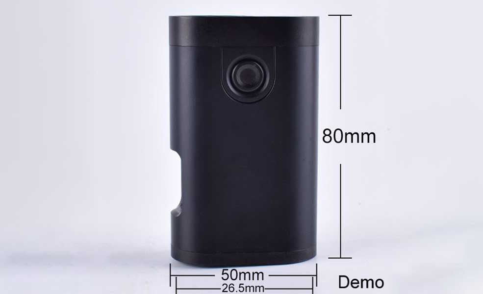 Armor Squonk 18650 Mechanical Mod With chip version - Black