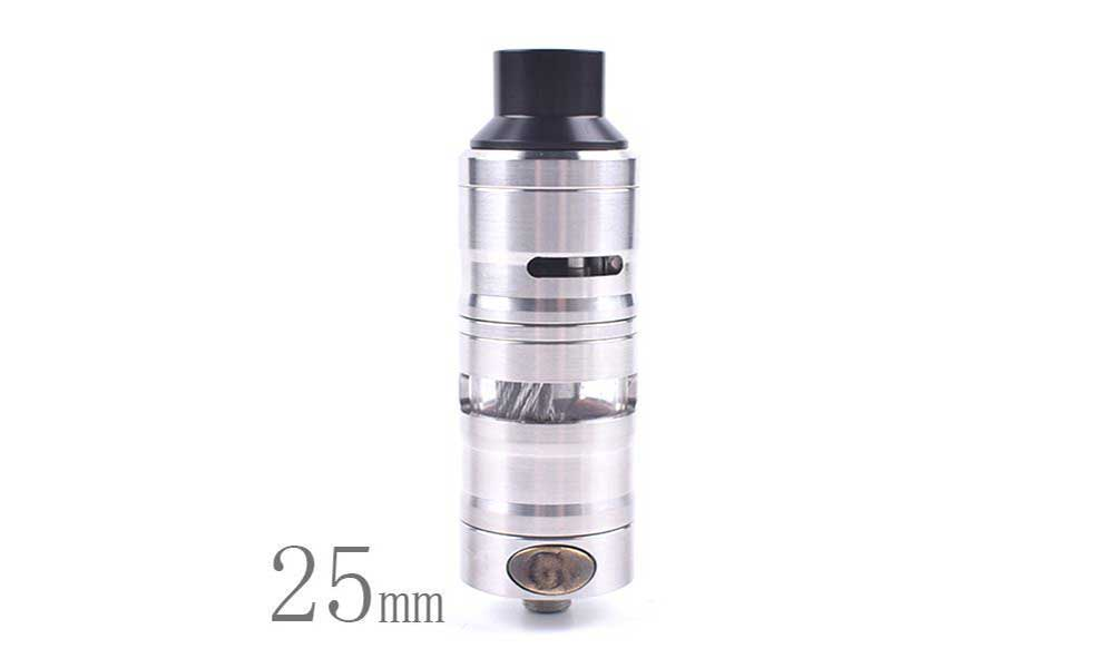 ShenRay GEVOLUTION V2 25mm 4.0ML RDTA Atomizer - Silver