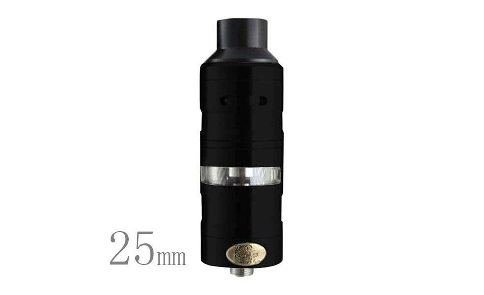 ShenRay GEVOLUTION V2 25mm 4.0ML RDTA Atomizer - Black