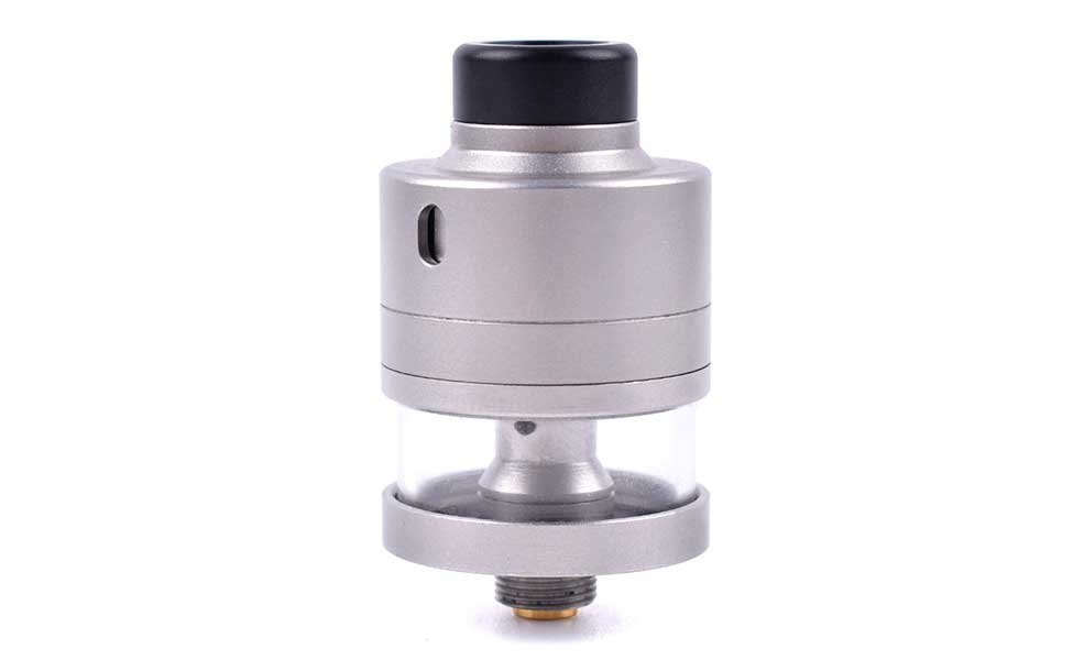 Haku Riviera Style 22mm RDTA Atomizer - Frosted Silver