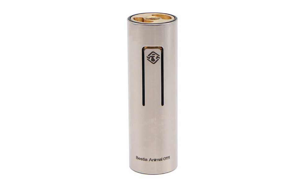 Bestia Animal 18650 Mechanical Mod 24mm - Glossy Brass
